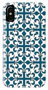 Orient Blue And White Interlude IPhone Case