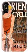 Orient Cycles 1890 IPhone Case