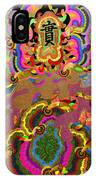 Oriental Leaf IPhone Case