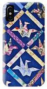 Origami Quilt Wall Art Prints IPhone Case