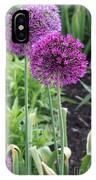 Ornamental Leek Flower IPhone Case