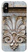 Ornamental Scrollwork Panel - Architectural Detail IPhone Case