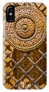 Ornate Door Knob IPhone Case