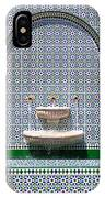 Ornate Fountain - Oman IPhone Case
