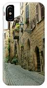 Orvieto Lane IPhone Case