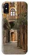 Orvieto Side Street IPhone Case