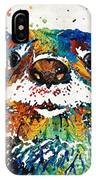 Otter Art - Ottertude - By Sharon Cummings IPhone Case