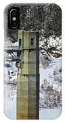 Otter Brook Dam IPhone Case