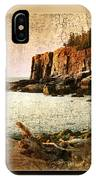 Otter Cliffs Acadia National Park IPhone Case