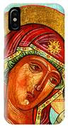 Our Lady Of Kazan IPhone Case
