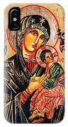 Our Lady Of Perpetual Help Icon IPhone Case