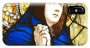 Our Lady Of Sorrows In Stained Glass IPhone Case