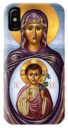 Our Lady Of The New Advent Gate Of Heaven 003 IPhone Case