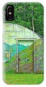Our Lady Of The Way Quonset Hut Chapel In Haines Junction-yt IPhone Case