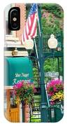 Ouray Street Lamp IPhone Case