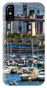 Out At The Harbor V3 IPhone Case