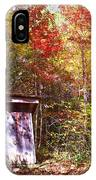 Out House In The Fall IPhone Case