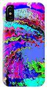 Out Of The Blue Wave Abstract IPhone Case