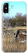 Out To Pasture 3 IPhone Case