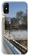 Out To The Gazebo IPhone Case