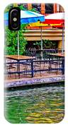 Outdoor Dining IPhone Case