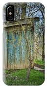 Outhouse In Spring IPhone X Case