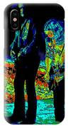 Outlaws #31 Crop 2 Art Psychedelic IPhone Case