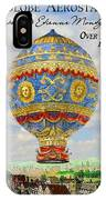 Over Paris 1783 IPhone Case