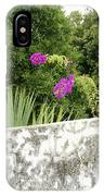 Overhanging Blossoms Yaxcopoil Mexico IPhone Case