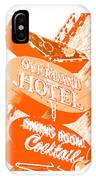 Overland Hotel IPhone X Case