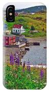 Overlooking Trinity-nl IPhone Case
