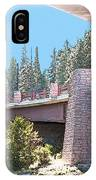 Healy Bridge Over Deschutes River IPhone Case