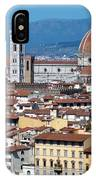 Overview Of Duomo Florence IPhone Case