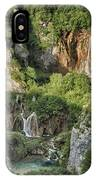 Overview Of Plitvice IPhone Case
