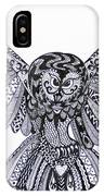 Owl In Flight Original IPhone Case