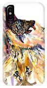 Owl Power IPhone Case