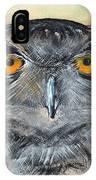 Owl Series - Owl 1 IPhone Case