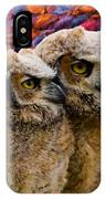 Owlets In Color IPhone Case
