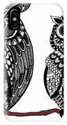 Owls 10 IPhone Case