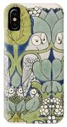 Owls, 1913 IPhone X Case