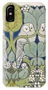 Owls, 1913 IPhone Case