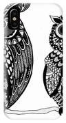 Owls 9 IPhone Case