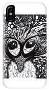 Owls Eyes IPhone Case