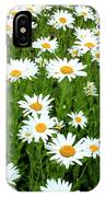 Ox-eye Daisies (leucanthemum Vulgare) IPhone X Case