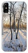 Oxbow Park Golden Hour IPhone Case