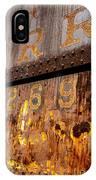 P R R - 9269 IPhone Case