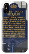 Pa-131 Robert Bogle 1774-1848 IPhone Case