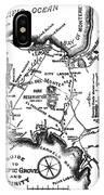 Pacific Grove And Vicinity  Monterey Peninsula California  Circa 1880 IPhone Case