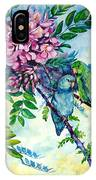Pacific Parrotlets IPhone Case