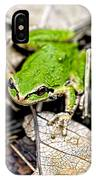 Pacific Tree Frog 2a IPhone Case